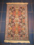 Accent Oriental Style Rug, Machine Made - approx. 26