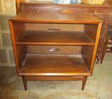 Mid Century Danish 2 Shelf Bookcase/ Server - Nice Piece!