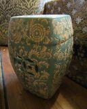 Ceramic Garden Bench - 18