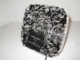 4  Cynthia Rowley Appetizer Plates - Black & White Design - 6.5