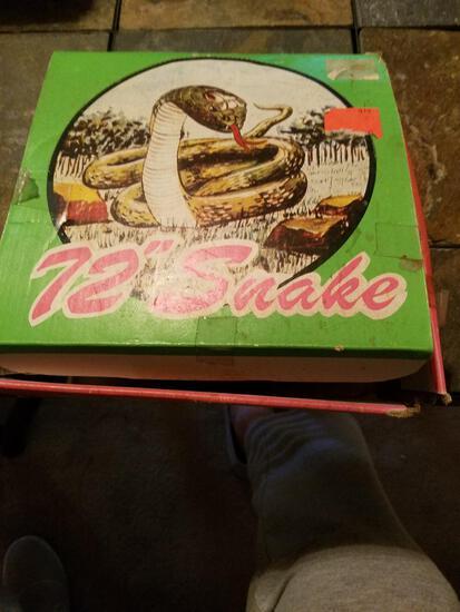 """72"""" Snake in Box"""