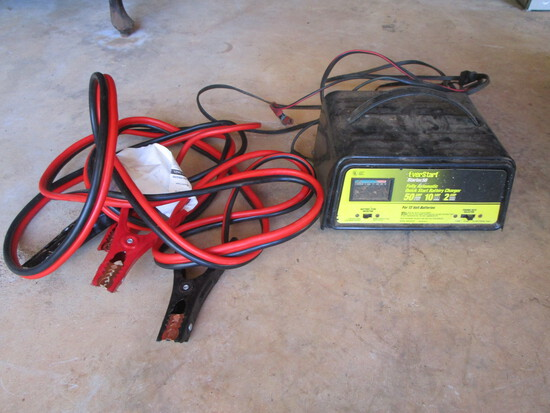 Jumper Cables & Charger