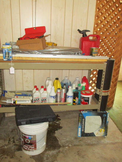 Great Garage Shelf Lot - see all pictures