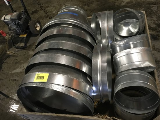 Galvanized Three-Piece Ducting Reducers