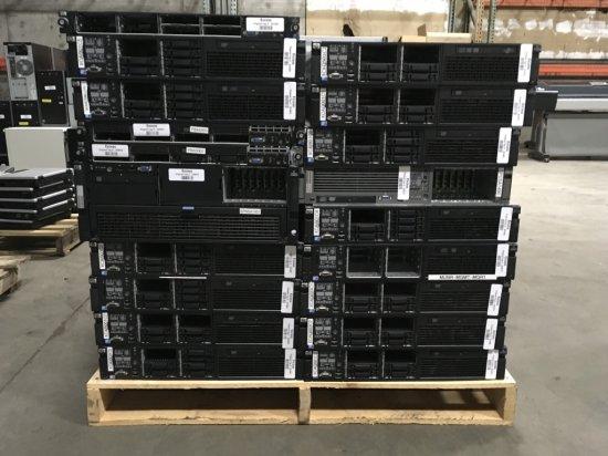 HP Proliant Servers, Qty 29