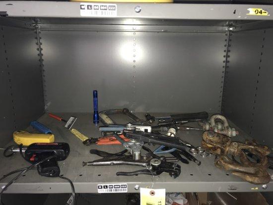 Soldering Gun, Wire Cutter, & Misc Tools
