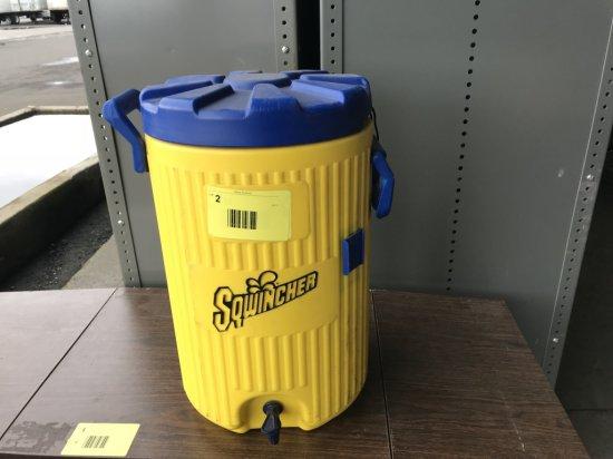 Sqwincher Water Cooler