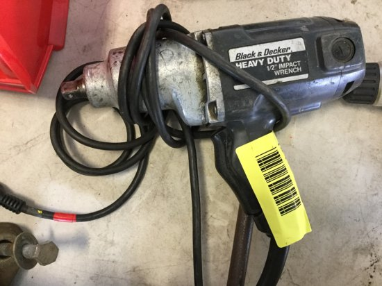 """Black and Decker 1/2"""" Impact Wrench"""