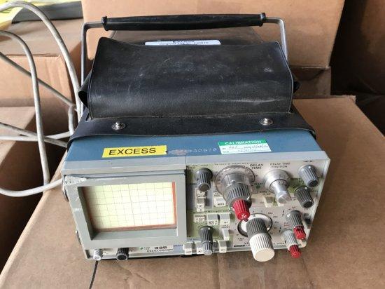Sony 335 Oscilloscope