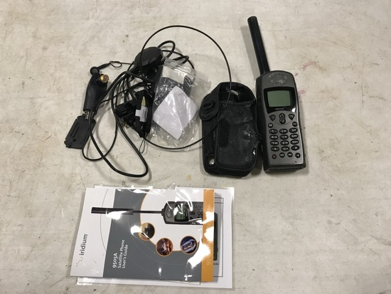 Iridium 9575 Satellite Phone