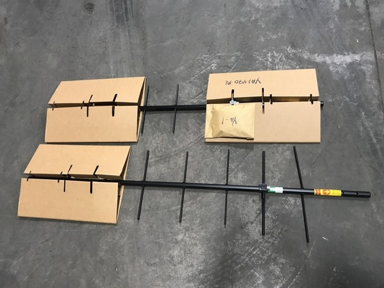 Larsen Kulrod YA-1-406 Antennas, Qty 2