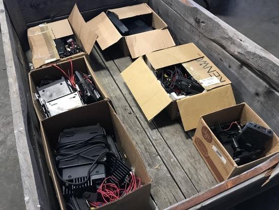Kenwood KRK-2 2-Way Radios, Qty 8