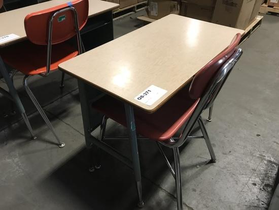 Child's School Desk w/ Chair
