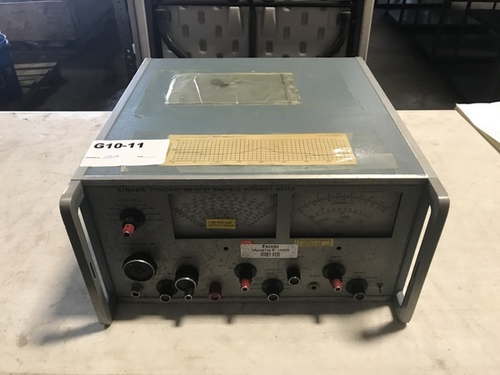 Singer NM-37-57EMI/Field Intensity Meter