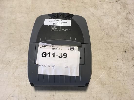 Zebra P4T Sticker Printer/Scanner