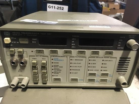 HP 4935A Transmission Test Sets, Qty 2