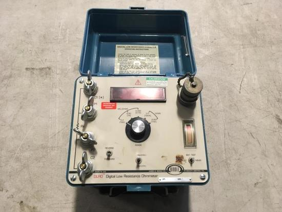 Biddle Low Resistence Ohmmeter