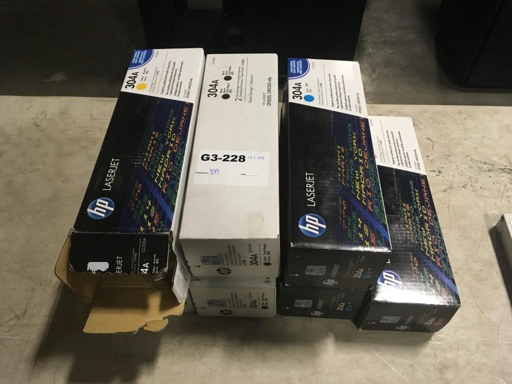 HP 304A Laserjet Printer Ink Cartidges