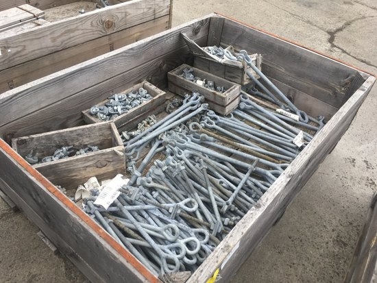 Oval Eye Bolts, Links, & Wire Rope