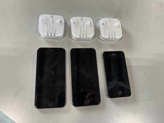 Apple Iphones Qty 3