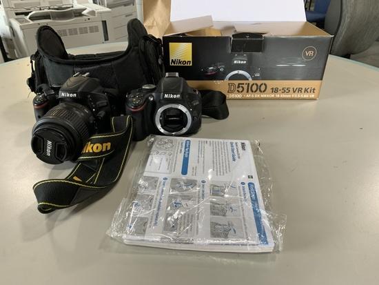 Nikon D5100 Digital Cameras Qty 2
