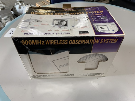 Acheiver Wireless Observation System