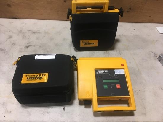Medtronic LifePak 500 Defibrillators