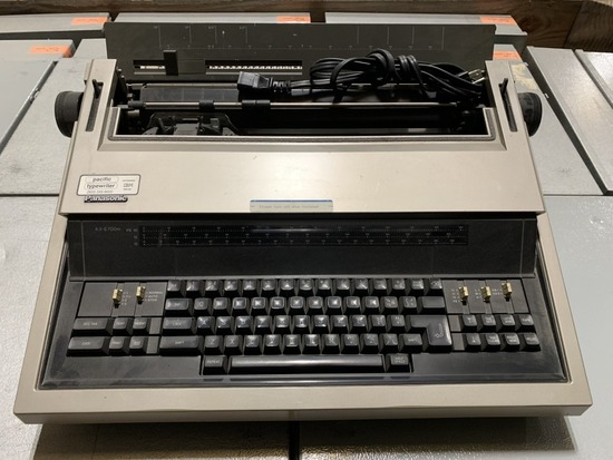 Panasonic KX-E700M Typewriter