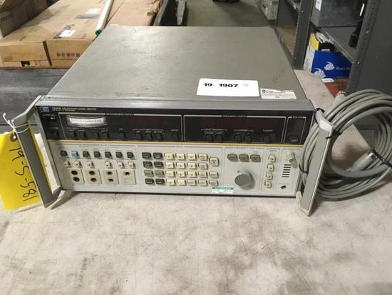 HP 3586B Selective level Meter