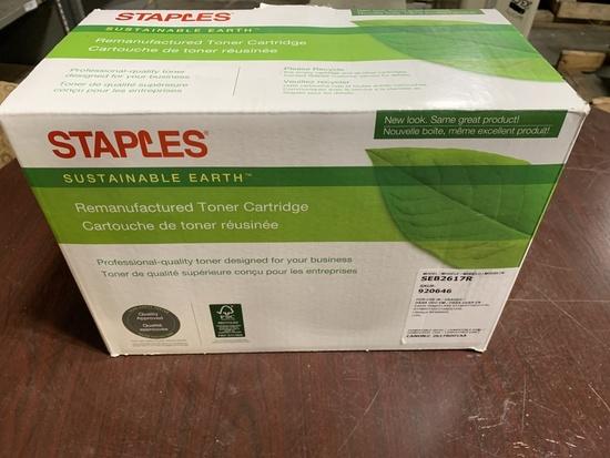 Staples SEB2617R Toner Cartridge