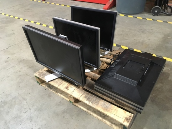 Dell Computer Monitors Qty 5