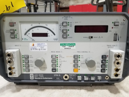 Wandel & Goltermann SPM-15 Level Meter