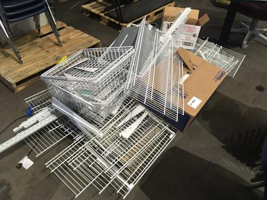 Metal Wire Shelving & HP Printer Ink