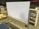 Two-Sided White Board w/Stand