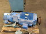 GE 15 HP Electric Motor w/Stearns Brake
