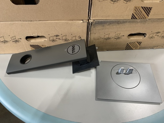 Dell Monitor Stands, Qty. 4