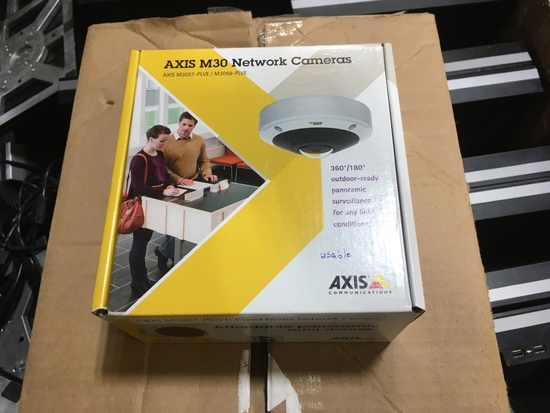 Axis M-30 Network Cameras Qty 4