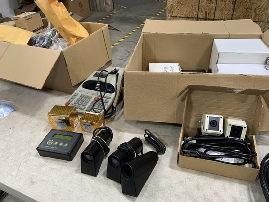 Security Cameras & System Components