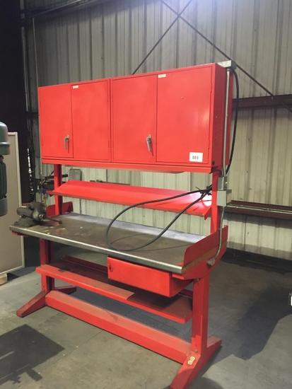 Equipto Metal Work Bench