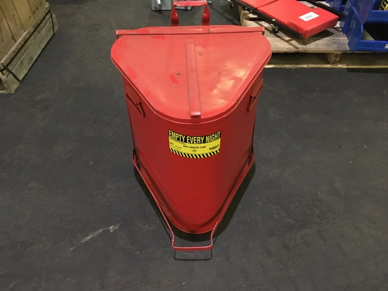 Eagle 21 Gal Oily Waste Can