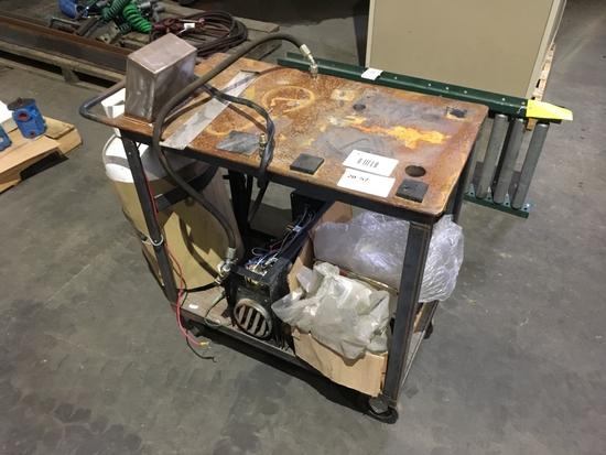 Grove Propane Fuel Heater Cart