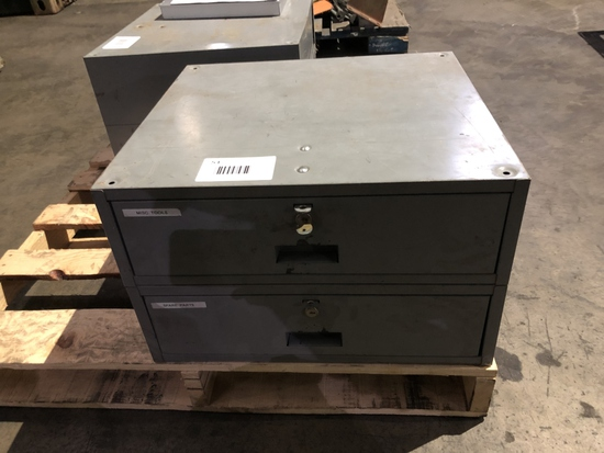 Metal Storage Drawer Unit
