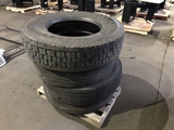 Commercial Truck Tires Qty 4