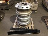 Aluminum R22.5 Rims Qty 4