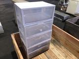 Platic Storage Units