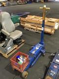 Walker 10-Ton Hydraulic Floor Jack