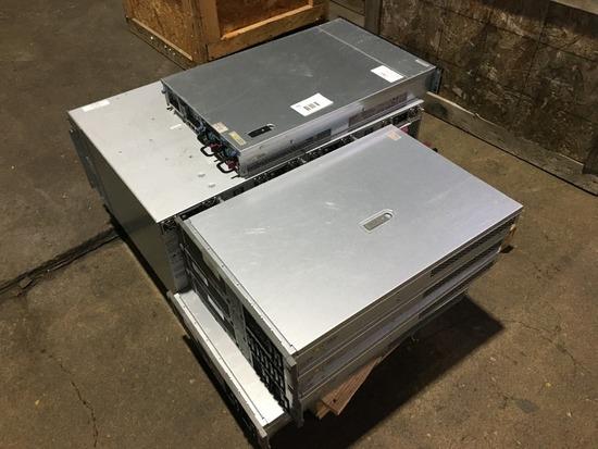HP Proliant Blade Servers Qty 7