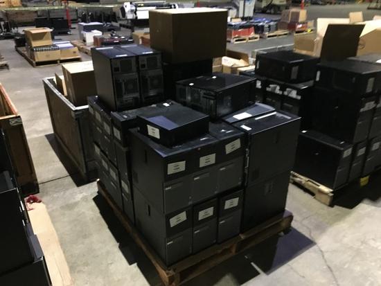 Dell Optiplex Desktop Computers Qty 35