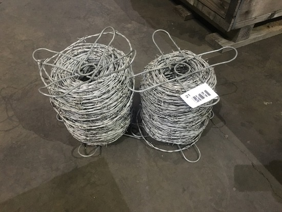 Barbed Wire Spools Qty 2