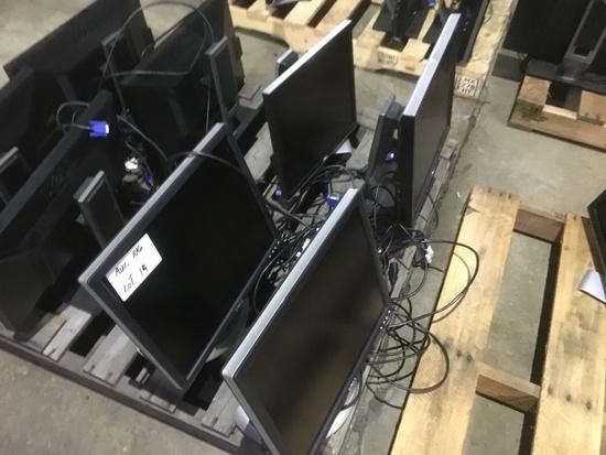 Dell Monitors, Qty. 4